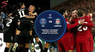 مشاهدة مباراة ليفربول و باريس سان جيرمان بث مباشر اليوم دوري ابطال اوروبا