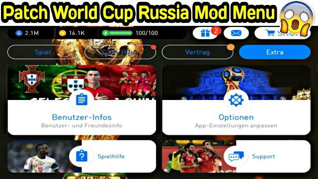Download Patch World Cup Russia PES 2018 Mobile (Android/IOS)
