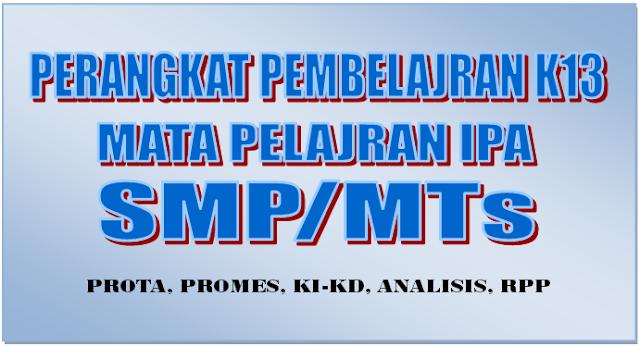 RPP IPA Kelas VII K13 Revisi