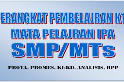 Download RPP IPA Kelas VII K13 Revisi Semester 1 dan 2