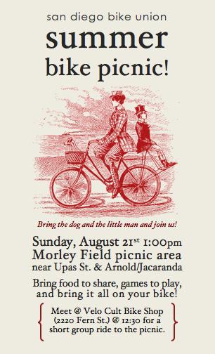 San Diego Bike Union Summer Picnic 2011