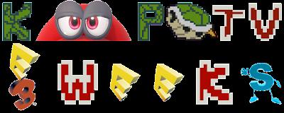 KoopaTV E3 Weeks 2017 logo banner Week Mario Cap eyes
