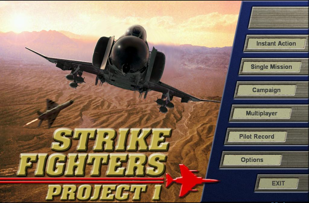 Strike Fighters Project 1 Game - Free Download Full Version