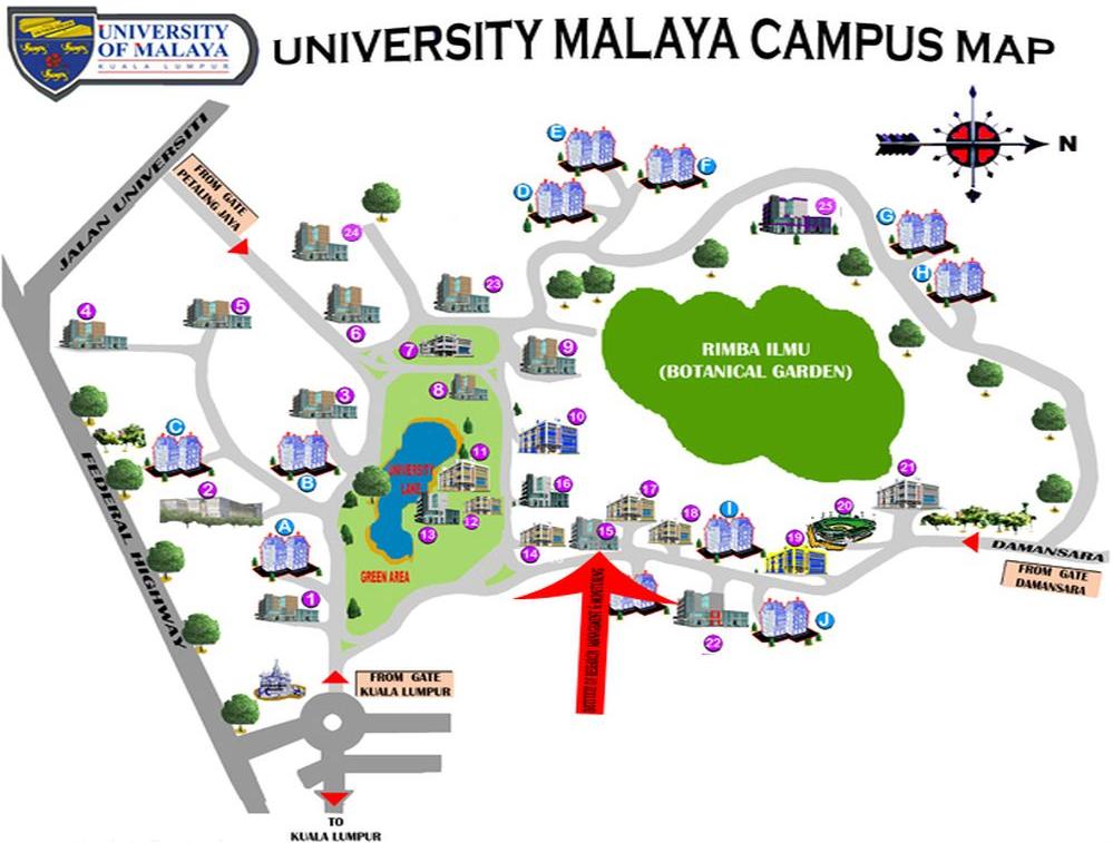 Universiti Malaya Campus Map Calendata: xCHANGE: GES 2013