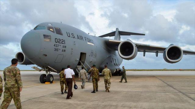 Comando Sur de EEUU realiza maniobra frente a costas de Venezuela