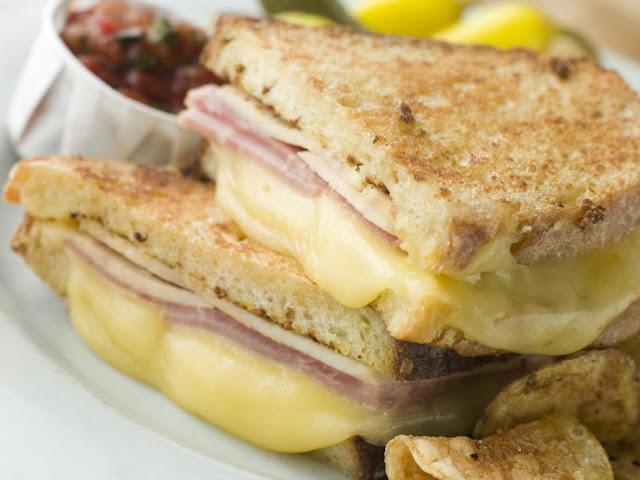 Recette sandwich jambon