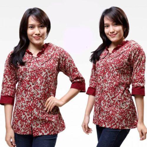 Blog Berbagi Informasi Online Model Baju Batik Kantoran