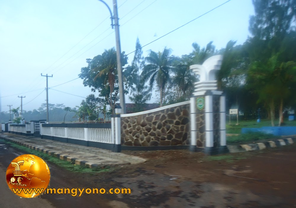 Gerbang Utara Desa Balingbing