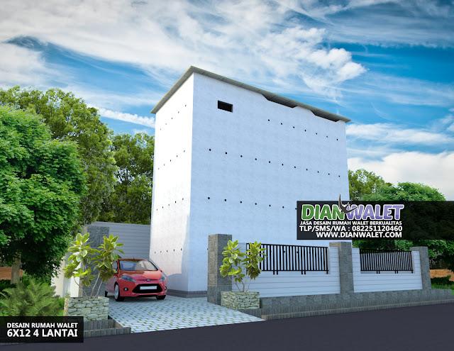 Terbaru: Desain Rumah Burung Walet Terbaik Yang Disenangi Walet