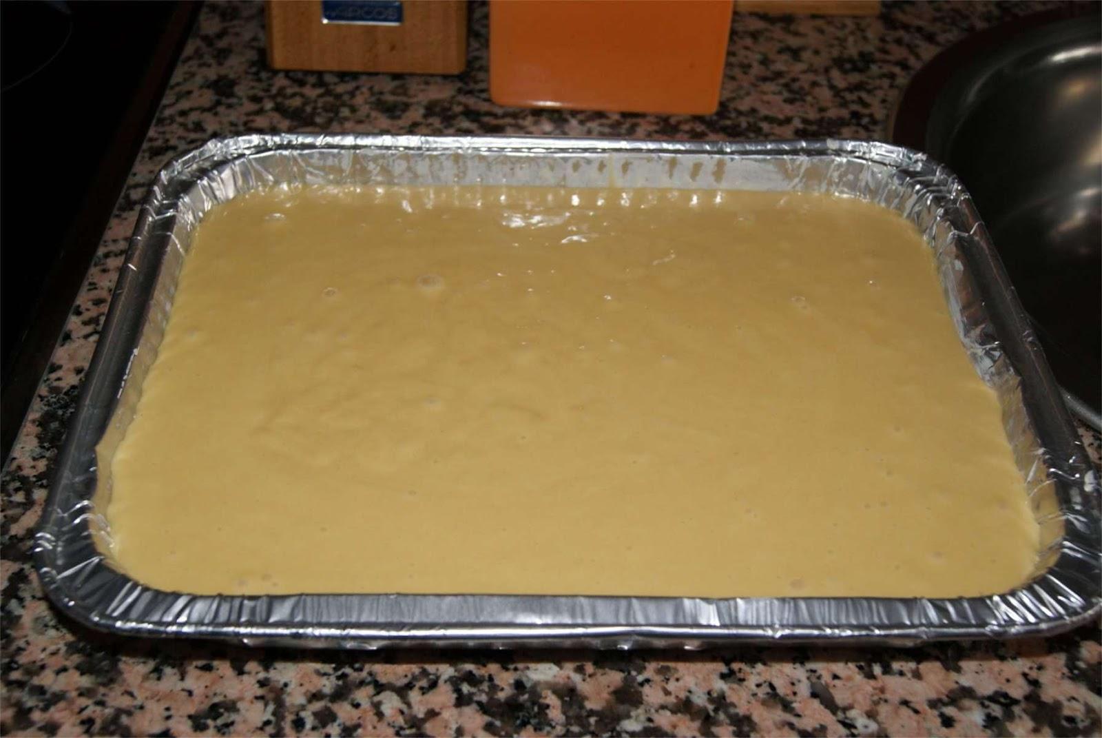 Receta de bizcocho de yogur tradicional paso 3
