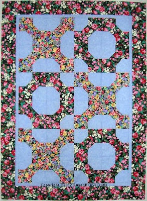 Hugs and Kisses Bow Tie quilt top