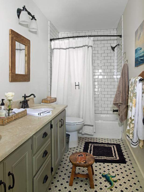 Home Design Ideas Cottage Bathrooms Designs