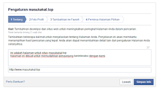Cara membuat fans page facebook/fb - internet