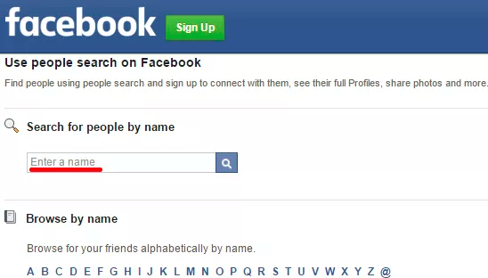 Find People On Facebook Without Signing Up