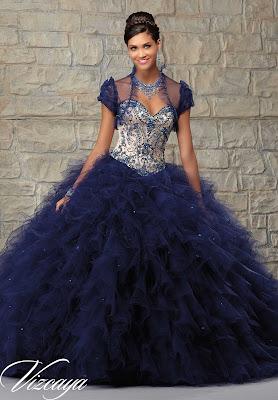 opciones de Vestidos de 15 Años Azules