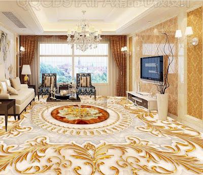 Gold Marble Floor Tile Colors design texture