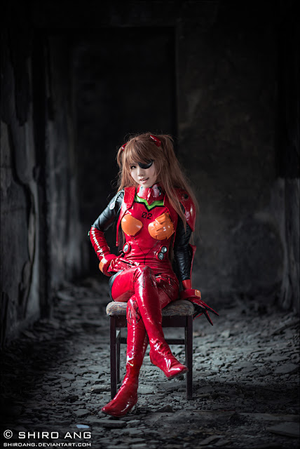 Cosplay Asuka Langley