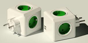 AUTOCAD MODELING - DESIGN AC POWER CUBE USB DI AUTOCAD
