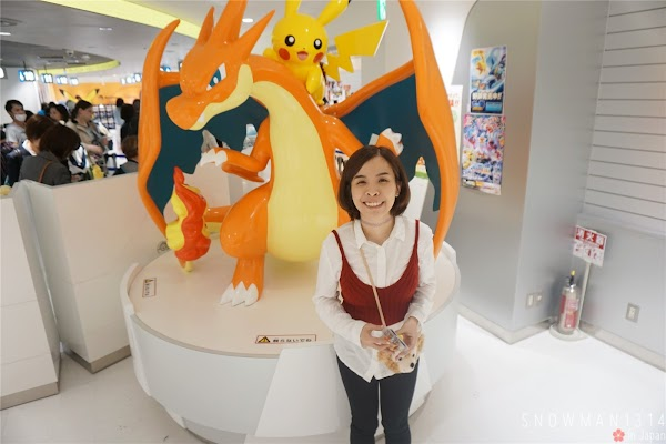 Pokemon Center Mega Tokyo @ Sunshine City