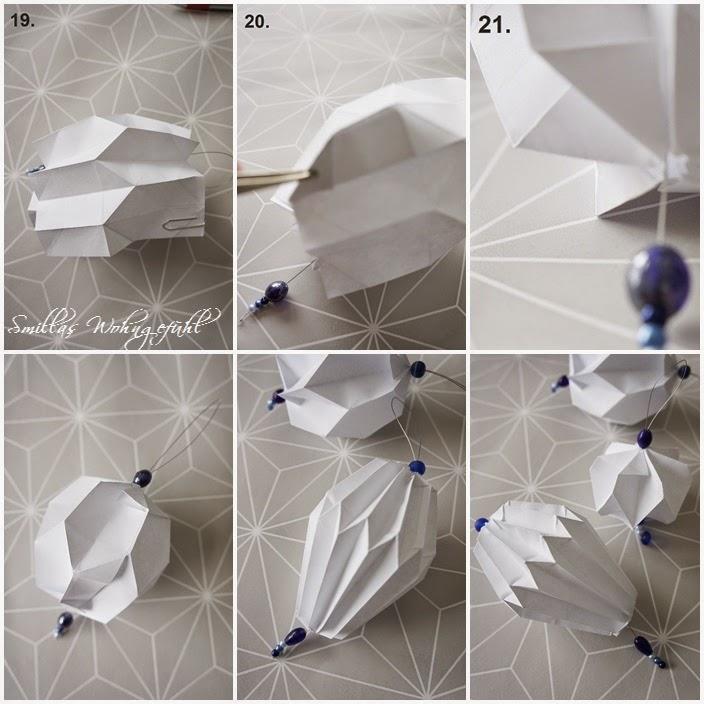 Gluwick Diy Origamiplissee Anhänger