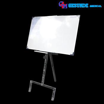 Papan Tulis Whiteboard Satu Muka Dengan Kaki