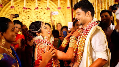 Sun Music VJ Diya marries fiance Karthik