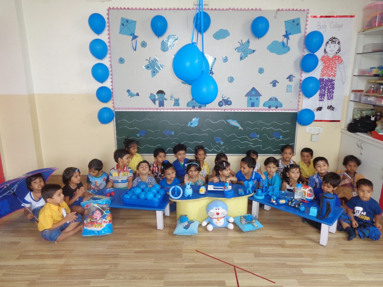 On The Top Of The World Celebrated Blue Color Day