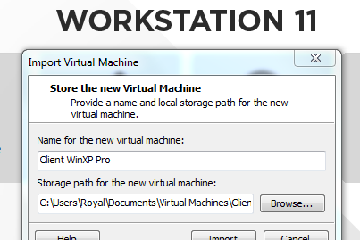 Cara Import Sistem Operasi di Vmware