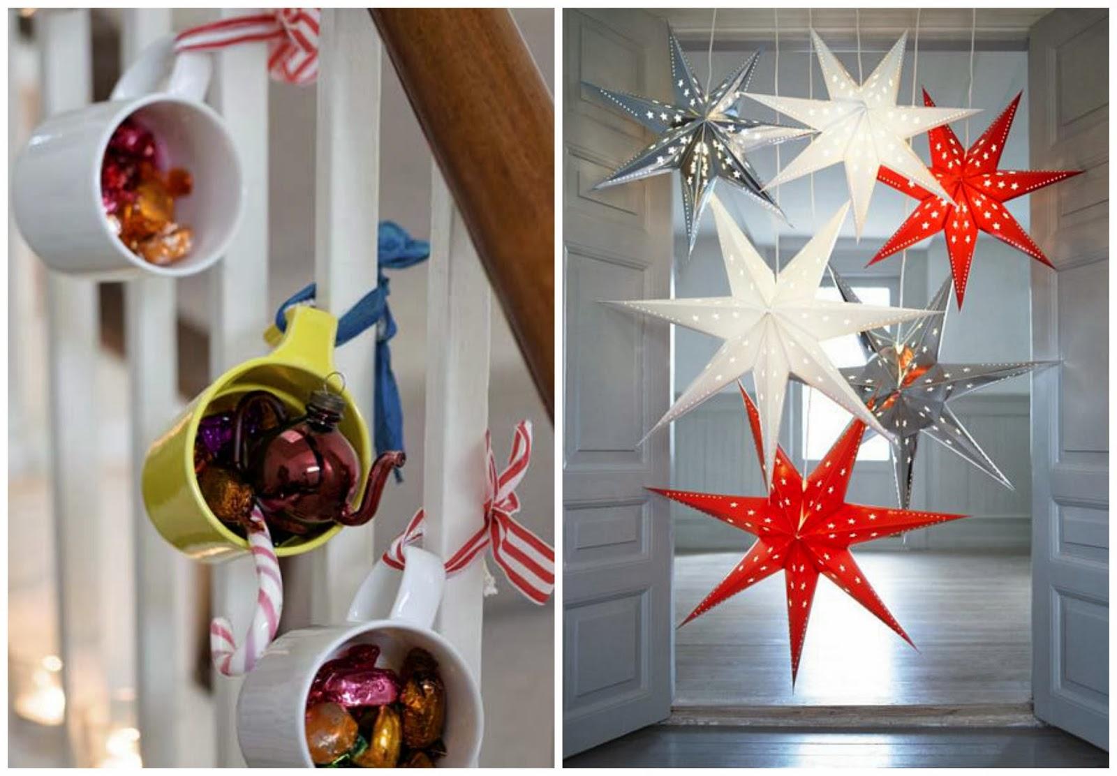 świąteczne dekoracje w mieszkaniu