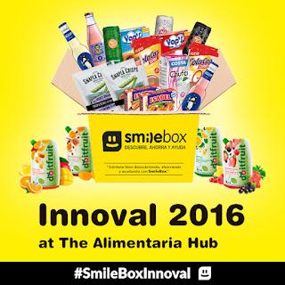 #SmileBox #SmileBoxMayo #sorpresas #innovación #cajadesuscripción #testdeproductos #sampling #box #innoval #alimentaria2016
