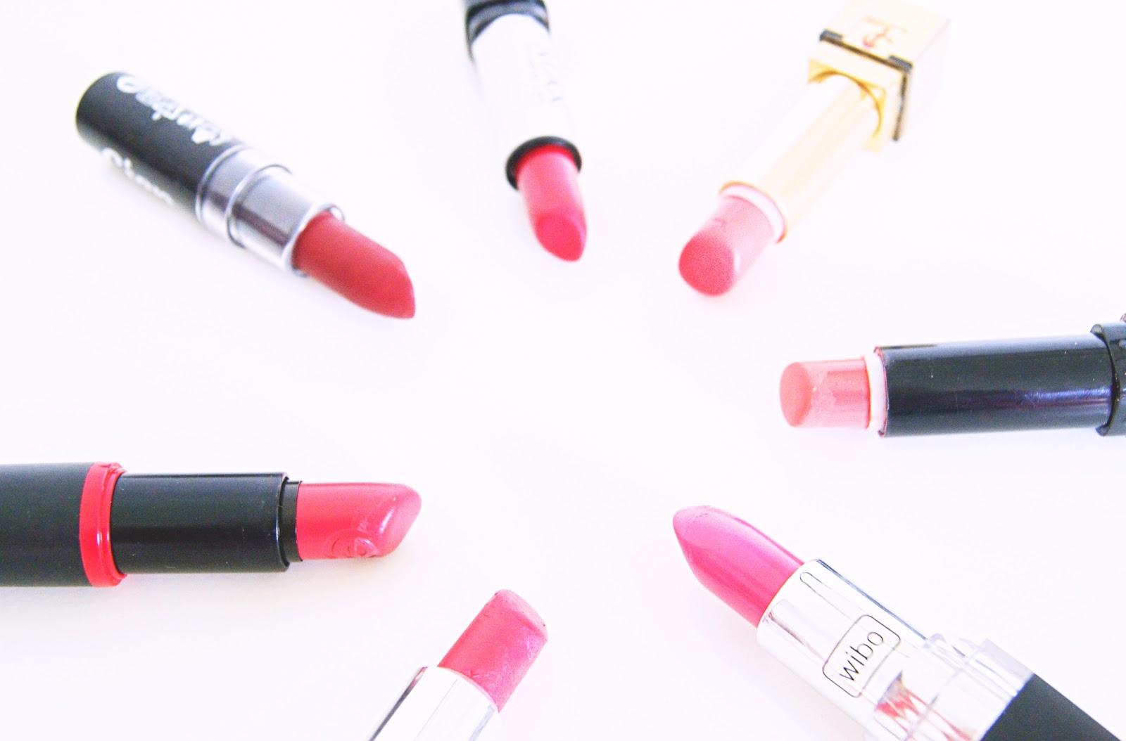 Mijn favoriete lipstick kleuren voor het najaar