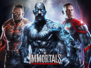 WWE Immortals MOD APK+DATA Unlimited Credits 2.1