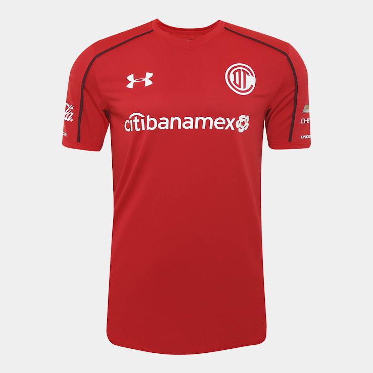New Club Deportivo Toluca Soccer Teddy Plush Bear 17