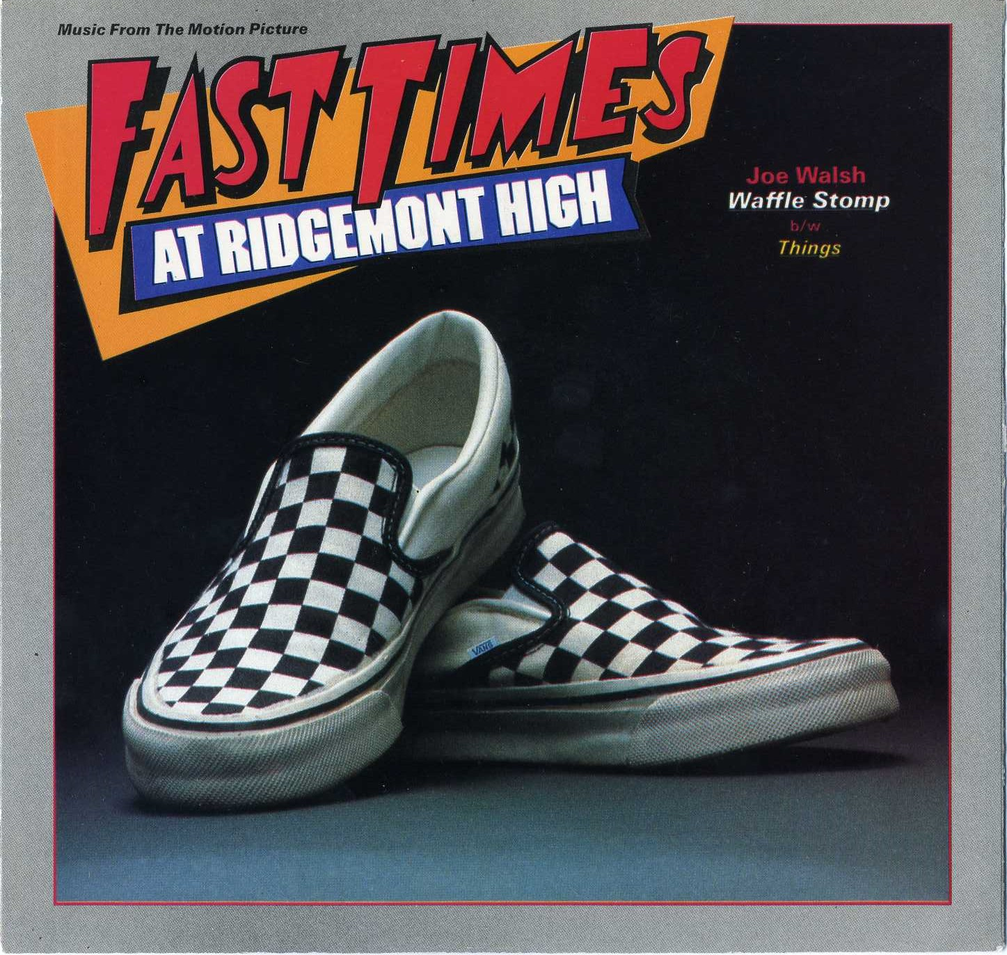 Fast Times At Ridgemont High Spicoli Shoes