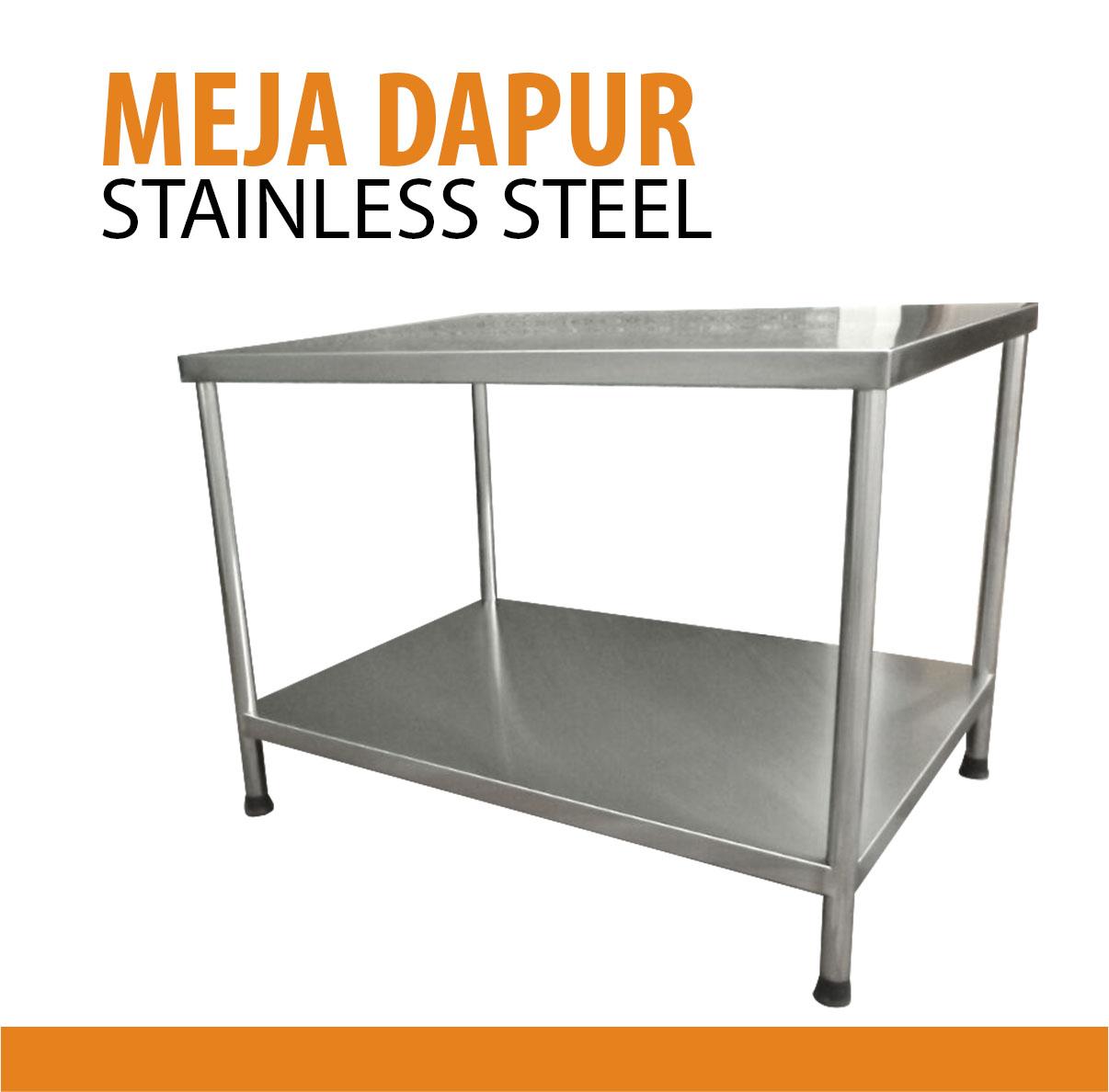 Dapur Stainless Steel Murah Desainrumahid com