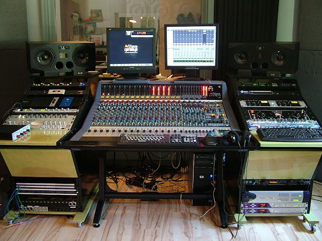gc pro guitar center professional division legendary console begins a new life at japanski studio. Black Bedroom Furniture Sets. Home Design Ideas