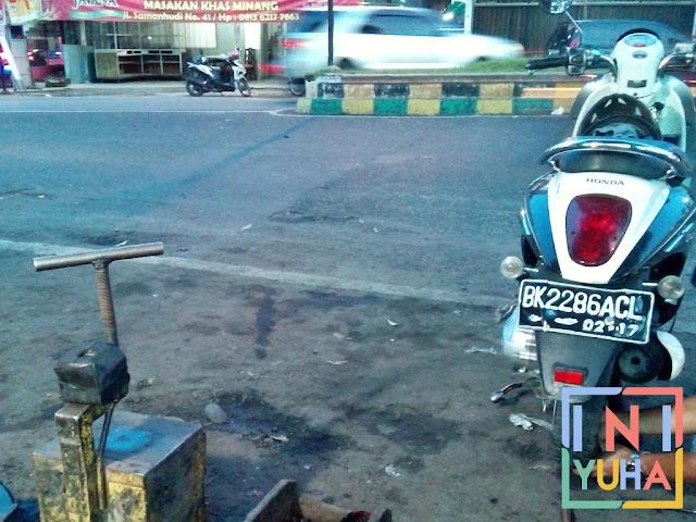 5 Hal Yang Dilakukan Jika Ban Motor Bocor