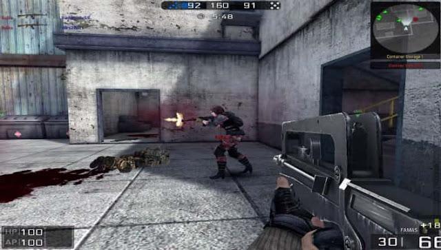 لعبة شبكة blackshot