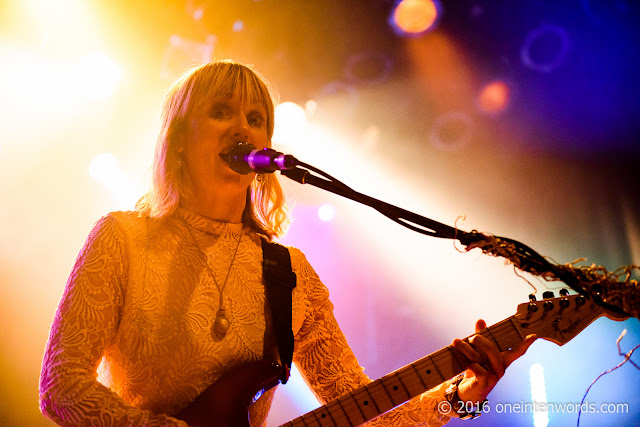 The Joy Formidable at The Mod Club for NXNE 2016 June 15, 2016 Photos by John at One In Ten Words oneintenwords.com toronto indie alternative live music blog concert photography pictures