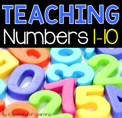 Teaching Numbers 1-10