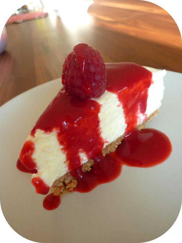 Cheese Cake Frambroise Reviser