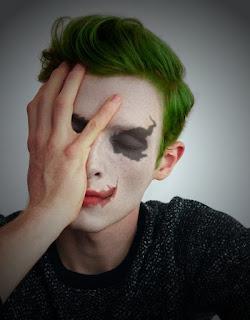cara membuat wajah joker di picsay pro