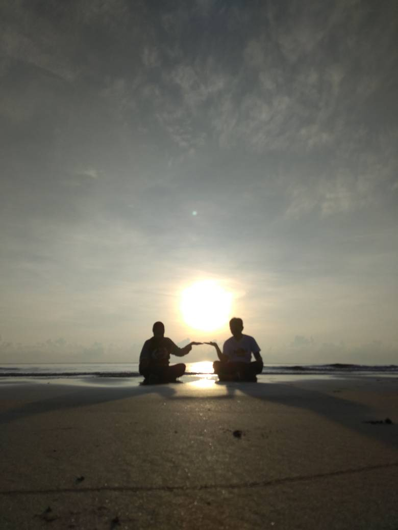 Riadah Pagi di Pantai Pandak Kuala Terengganu
