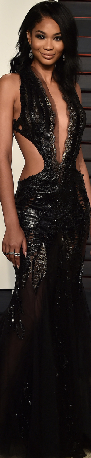 Chanel Iman 2016 Vanity Fair Oscar Party