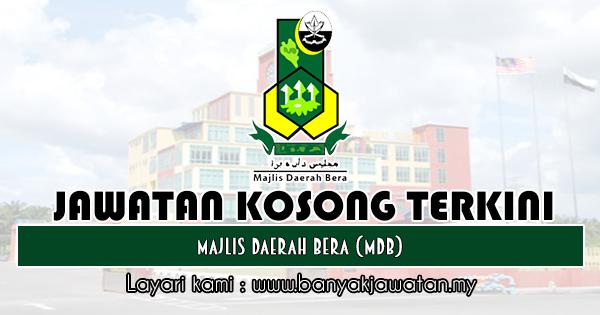 Jawatan Kosong 2019 di Majlis Daerah Bera (MDB)