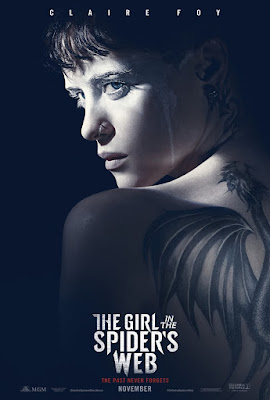 The Girl In The Spiders Web Movie Poster 1