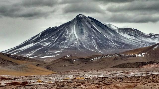Mount Mordor on the Bolivian/ Chilean border