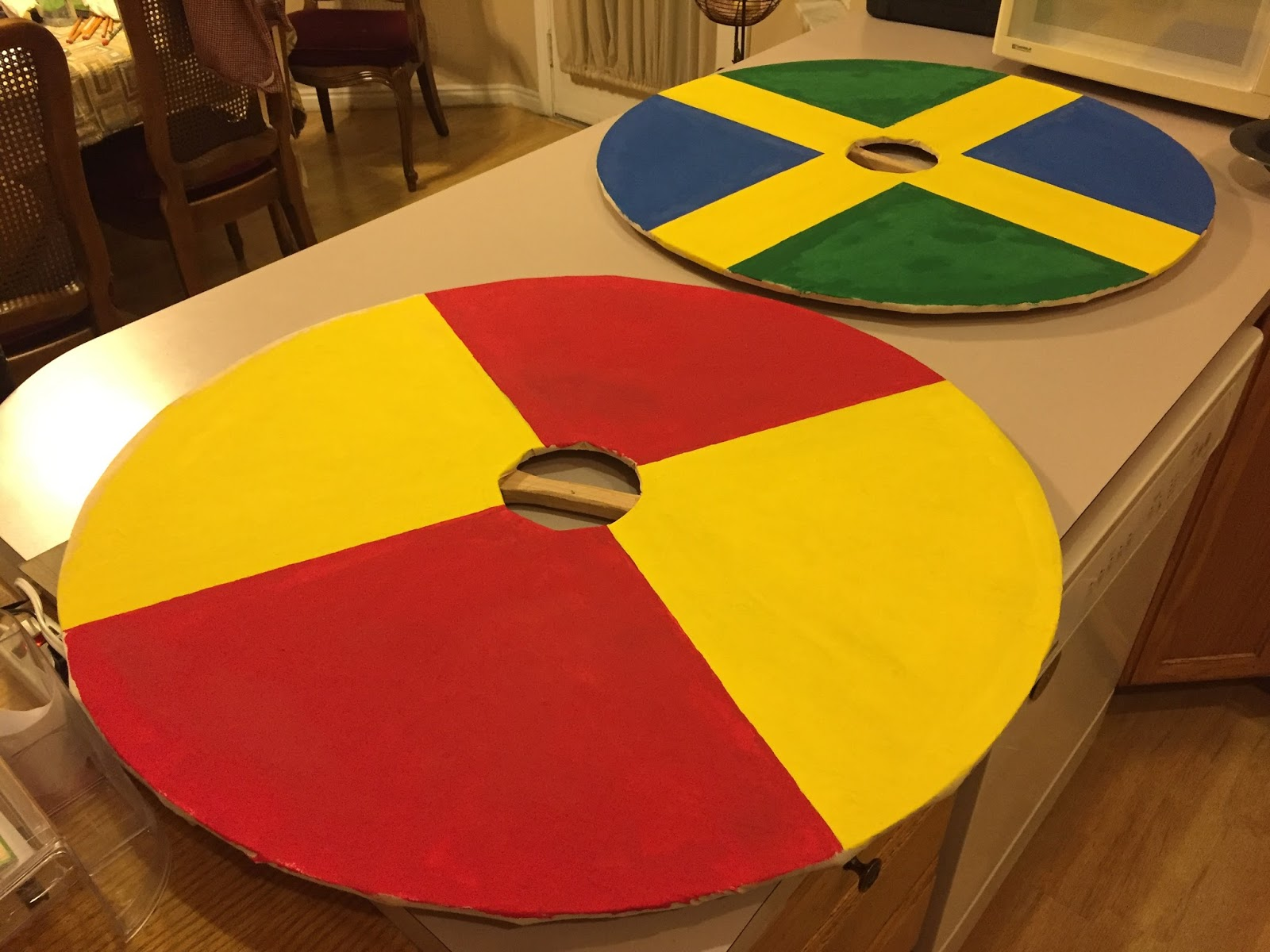 Kerk's Ramblings: Making Viking Shields