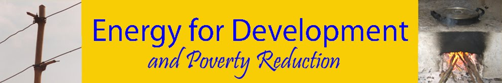 Energy for Development and Poverty Reduction