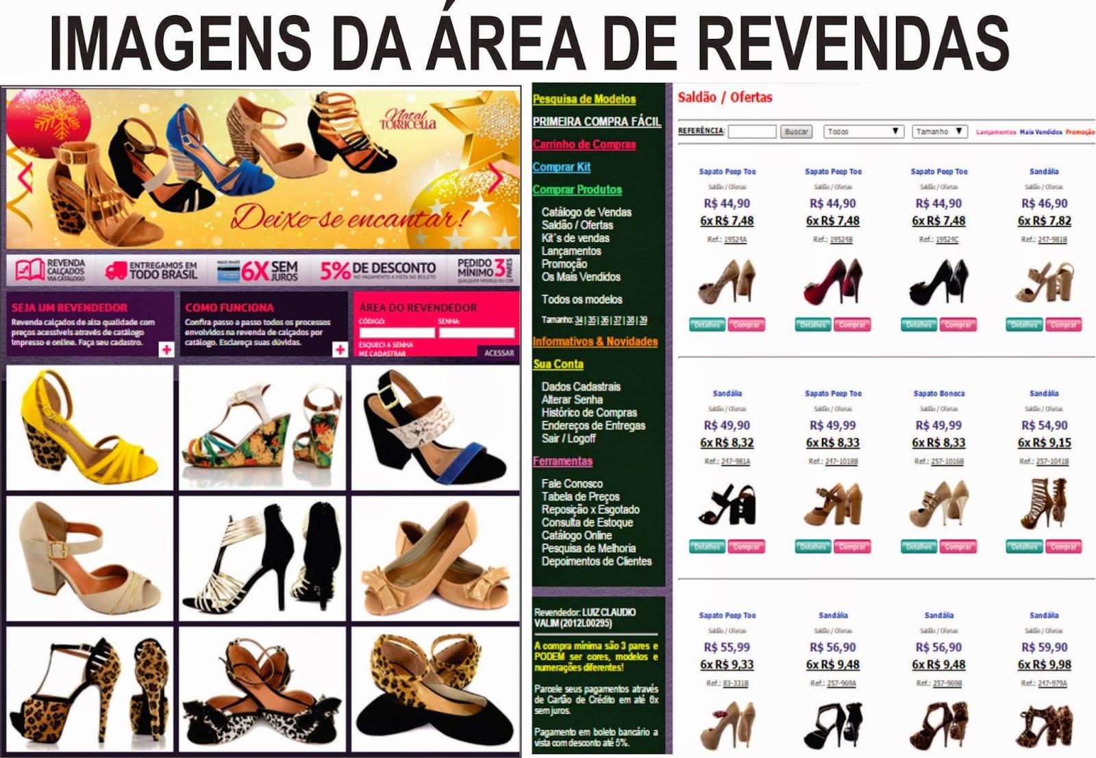 ad4a23d703 REVENDA TORRICELLA E OUTROS PRODUTOS.  REVENDA SAPATOS TORRICELLA+ ...